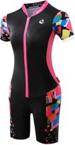 UOOU Outdoor Sports Women's Cycling Suit Bicycle Jersey + Shorts JumpSuits Summer Sports Suit