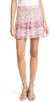 Rebecca Minkoff Women's Canyon Floral Print Miniskirt