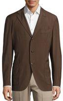 Boglioli Three-Button Wool Blazer