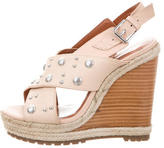 Rebecca Minkoff Studded Crossover Wedges