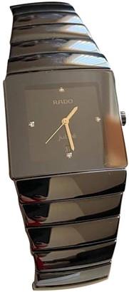 Rado Black Ceramic Watches