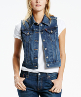 Levi's Crystal Night Authentic Trucker Vest
