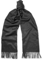 Alexander McQueen Cashmere Scarf - Charcoal