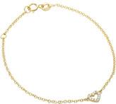 Jan Logan 18ct Diamond Mini Heart Bracelet