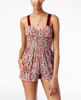 American Rag Sleeveless Printed Romper, Only at Macy's