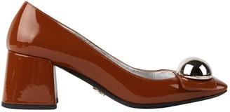 Prada Brown Patent leather Heels
