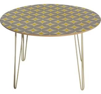 Deny Designs Holli Zollinger Diamond Circles Dining Table