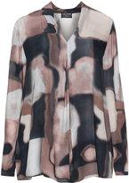 Via Appia Plus Size Printed tunic