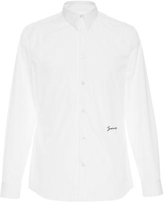 Givenchy Cotton-Poplin Button-Up Shirt