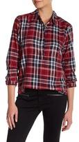 Joe Fresh Metallic Plaid Shirt
