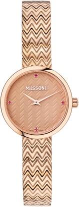 Missoni M1 Joy Topaz Bracelet Watch, 29mm