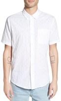 Ezekiel 'Check It' Regular Fit Print Short Sleeve Woven Shirt