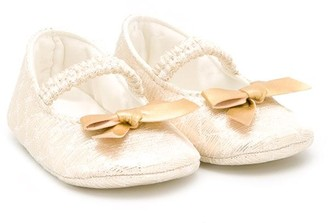 MonnaLisa Bow Detail Ballerinas