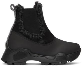 Mou Black Mountain Chelsea Boots