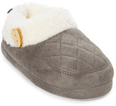Gray Quilted Slipper