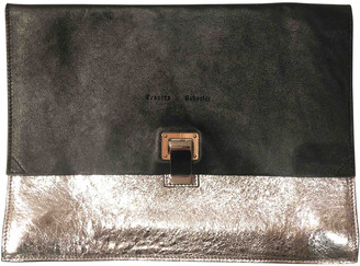 Proenza Schouler Lunch Black Leather Clutch bags