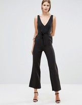 Oh My Love Jumpsuit With Tie Wrap