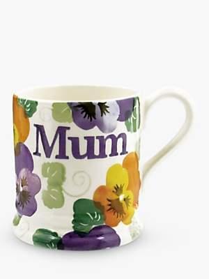 Emma Bridgewater Mum Pansy Mug, 284ml