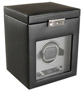 Wolf Viceroy Watch Winder & Storage Space - Black