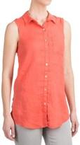 Jones New York Jones & Co Linen Shirt - Sleeveless (For Women)