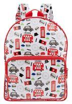 Harrods Red Bus Backpack