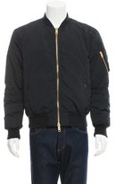 Burberry Puffer-Lined Bomber Jacket