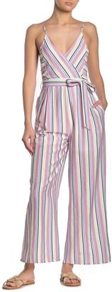 Hyfve Stripe Waist Tie Jumpsuit