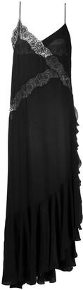 Faith Connexion Asymmetric Lace-Trim Dress