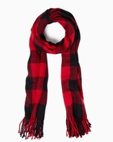 Charming charlie Buffalo Plaid Scarf