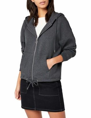 Urban Classics Women's Ladies Kimono Zip Hoody Hooded Sweatshirt