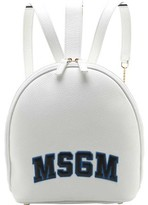 MSGM Women's Classic Block Letter Backpack