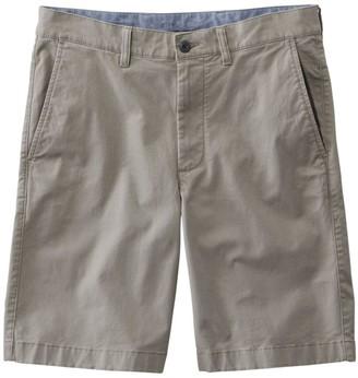L.L. Bean Men's LakewashedA Stretch Khaki Shorts, Standard Fit