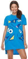 Disney / Pixar Finding Dory Juniors' Pajamas: Oversized Sleep Shirt