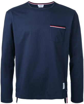 Thom Browne Long-Sleeved T-Shirt
