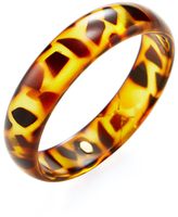 Kenneth Jay Lane Resin Bangle Bracelet