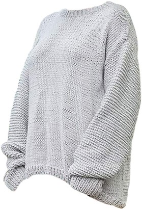 The Knotty Ones Nida Knit In Grey