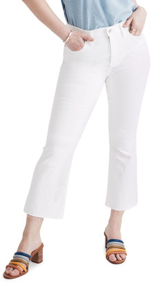 Madewell Cali Boot-Cut Jeans with Raw Hem