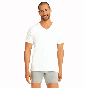 Hanes Big & Tall Ultimate 5-pack V-Neck Tees