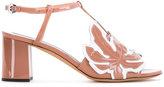 Rochas block heel sandals - women - Leather - 36.5