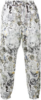 Etro nautical print trousers - men - Linen/Flax - 46