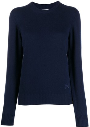 Barrie Round Neck Cashmere Jumper