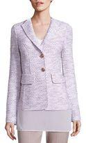 St. John Tweed Knit Blazer