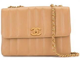 Chanel Pre Owned 1995 Mademoiselle quilted shoulder bag