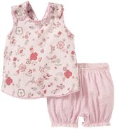 Angel Dear Miracle Garden Playsuit (Baby) - Pink-12-18 Months