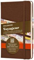 Moleskine Voyageur Traveller's Notebook, Hard Cover - Nutmeg Brown