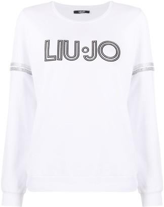 Liu Jo Logo Print Sweashirt