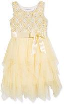 Bonnie Jean Sequin Top Tulle Dress, Little Girls (2-6X)