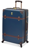 "London Fog CLOSEOUT! Retro 28"" Expandable Spinner Suitcase"