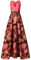 Carolina Herrera printed skirt ball gown