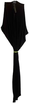 Gareth Pugh Black Silk Dresses